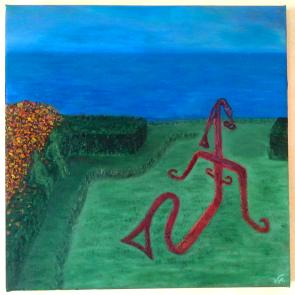 Jardin II ©2014 40×40 cm