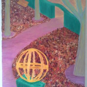 Jardin Intérieur ©2014 73×54 cm